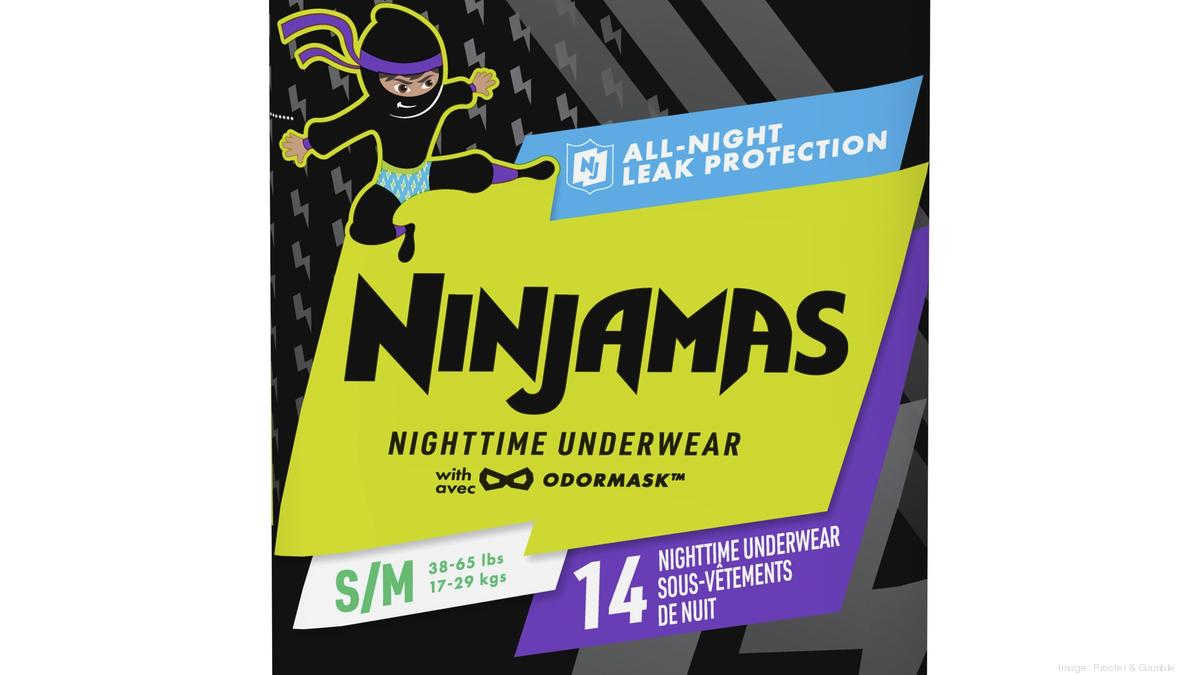 P G Rolls Out Ninjamas Brand Of Nighttime Underwear Under Pampers Cincinnati Business Courier