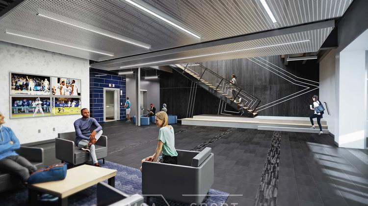 Future higher education facilities like the Xavier Heidt Family Champions Center, which is currently under construction, will give consideration for the health and performance of building occupants.