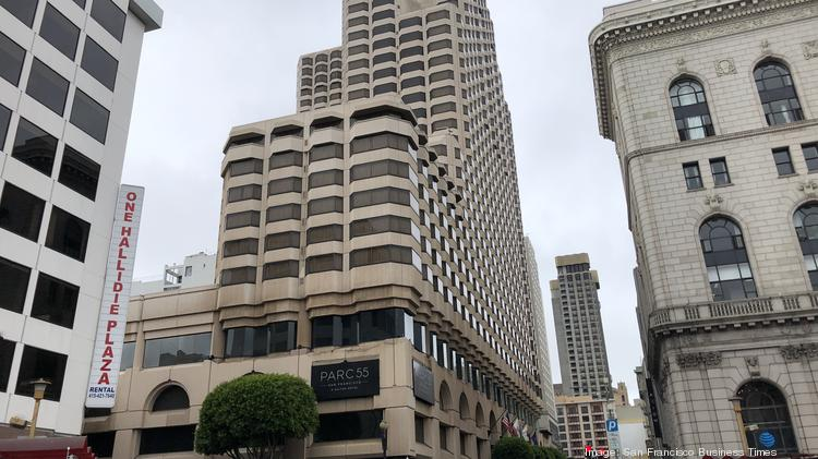 The Hilton Parc 55 San Francisco sits at 55 Cyril Magnin St., near Market and Powell streets.