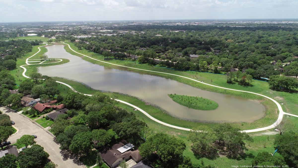 Exploration Green flood-control project Phase 2 complete - Houston Business Journal