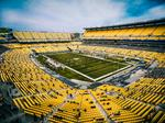 Sports during Covid: Images from Sunday's Steelers game