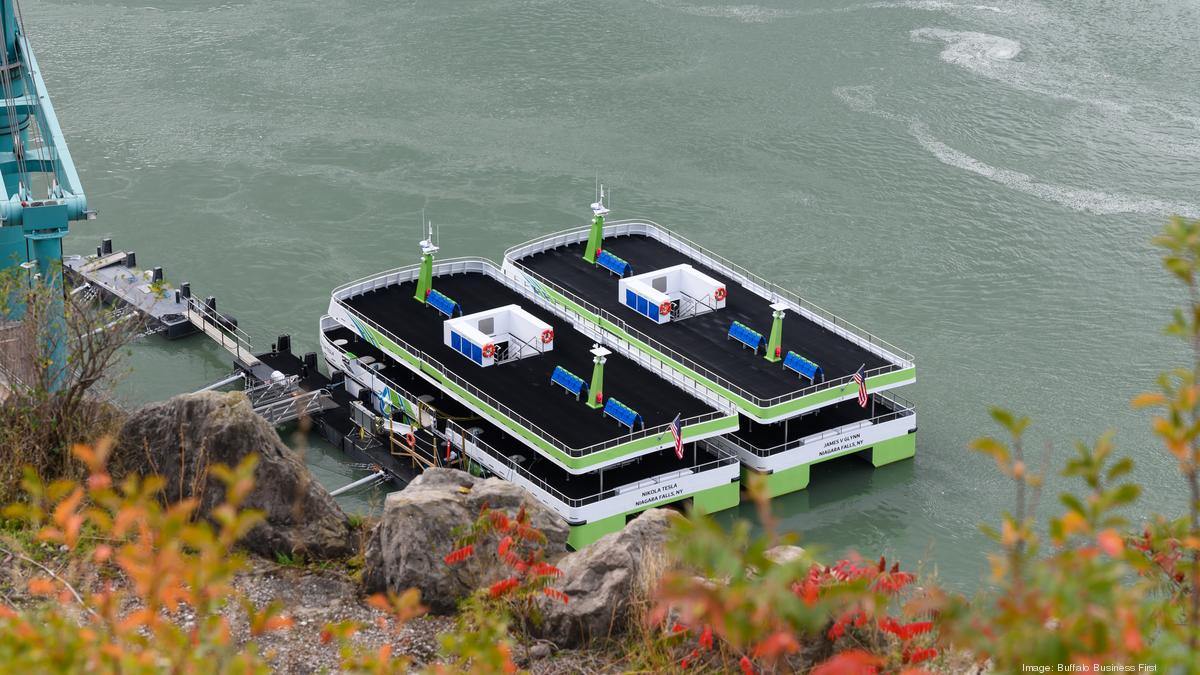 Maid of the Mist sheds diesel for electric - Buffalo Business First