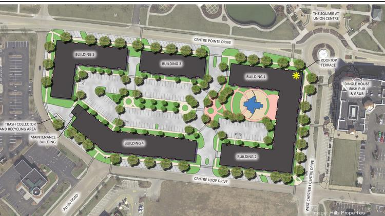 Hills Properties To Build Luxury Apartments In West Chester Cincinnati Business Courier