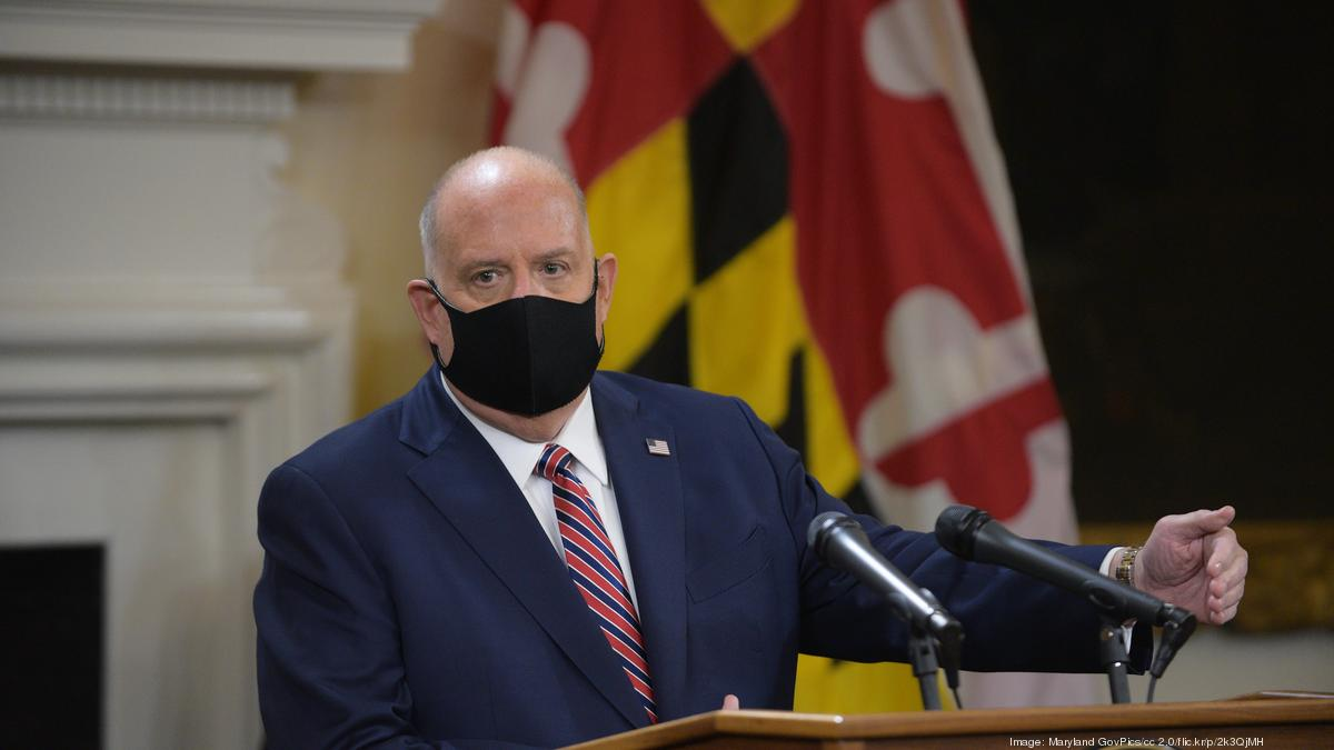 Gov Larry Hogan Issues New Covid 19 Restrictions Urges Caution As Maryland Crosses Into Danger Zone Baltimore Business Journal