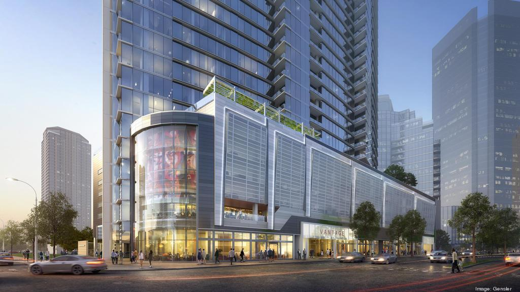Dinerstein Cos.' Galleria-area apartment tower Aspire Post Oak tops out -  Houston Business Journal