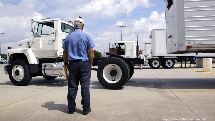 The increasing need for delivery services means truck drivers are in demand.