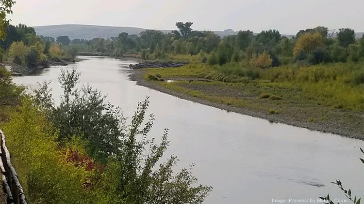 The restored Elkhead Reservoir