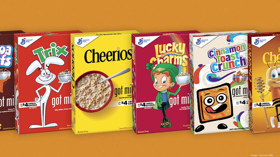 General Mills adds 'Got Milk?' branding — mustaches and all — to cereal boxes - Minneapolis / St ...