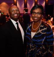 Leon Haley, Executive Associate Dean of Clinical Services for Grady and Chief Medical Officer of the Emory Medical Care Foundation and wife Carla Neal Haley.