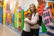 Students participate in the OrchKids program at Lockerman-Bundy Elementary School on Oct. 8.