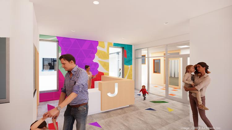 The education wing and early learning center will have a private entrance for participants.