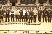 The Wichita State University Women's Basketball Team was welcomed home during an event Sunday at Charles Koch Arena. The team lost to Texas A&M   71-45 Saturday.
