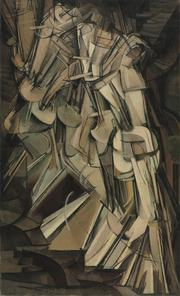 """Nude Descending a Staircase (No. 2)"" (1912) by Marcel Duchamp. The New-York Historical Society is displaying some 100 masterworks, Duchamp's among them, in ""The Armory Show at 100: Modern Art and Revolution."""