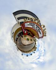 The works feature favorite Houston and Galveston landmarks, turned into spherical panoramas.