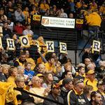 Shocker fans converge on St. Louis