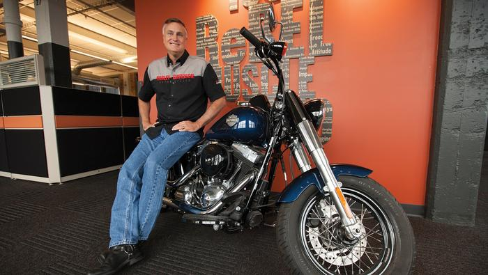 Harley-Davidson execs remain confident in face of hurricane headwinds, skid in global sales