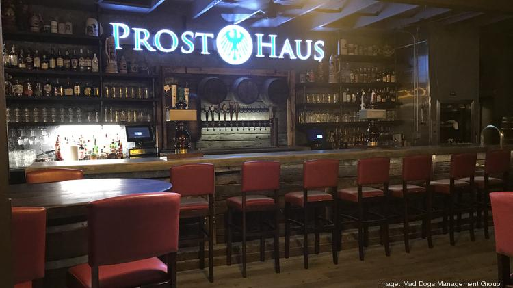 "The interior will feature a ""Bavarian bier room"" with over 50 draft beers."