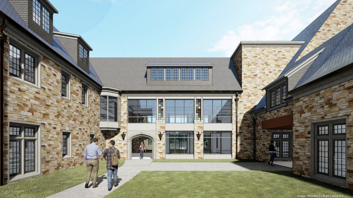 Rhodes College Calendar 2022.Rhodes College Plans 61k Sq Ft 18m Residence Hall Memphis Business Journal