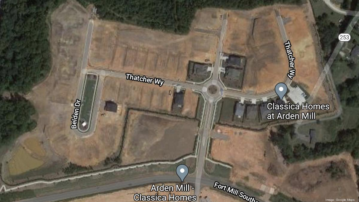 Classica Homes Buys Land For Second Phase Of Fort Mill Residential Development Charlotte Business Journal