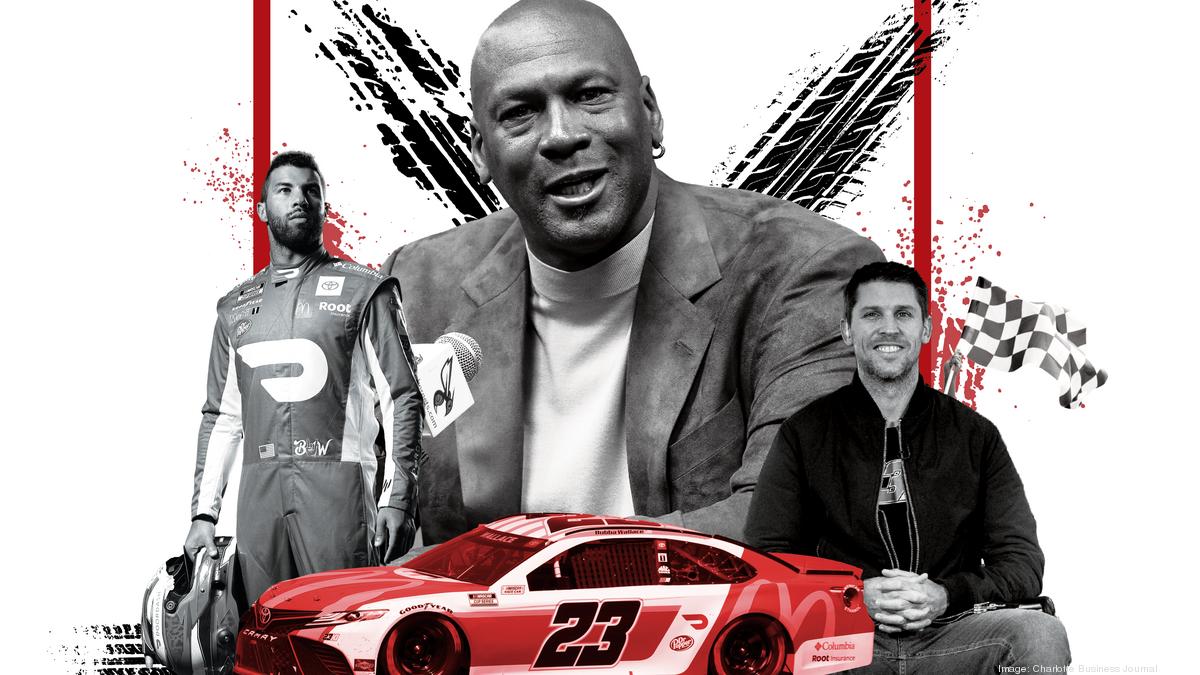 Michael Jordan, Denny Hamlin's 23XI Racing an engine for growth in NASCAR - Charlotte Business Journal