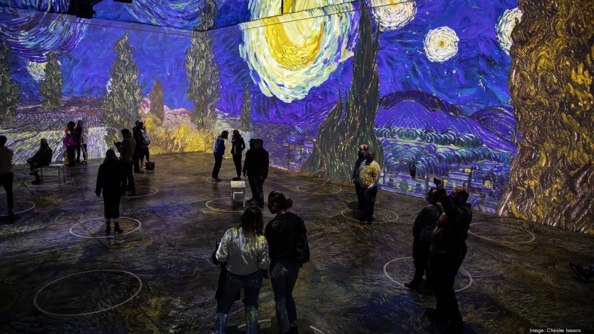 'Immersive Van Gogh' experience will arrive in KC in December 2021 - Kansas City Business Journal