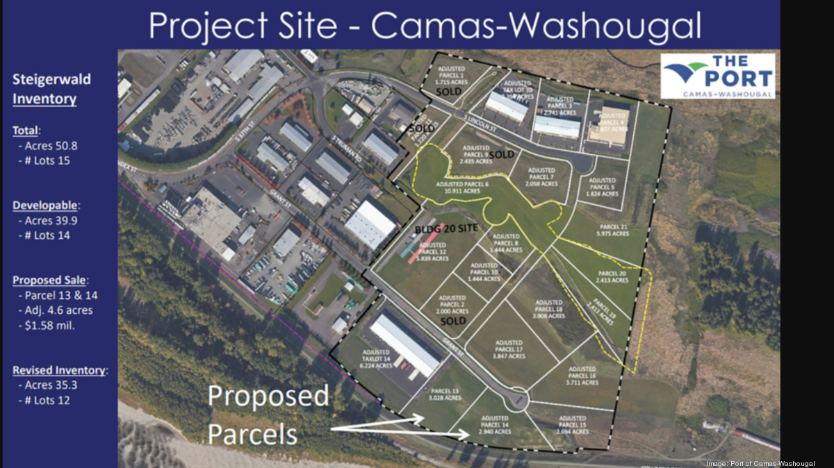 California aerospace supplier buys land for relocation to Washington - Puget Sound Business Journal