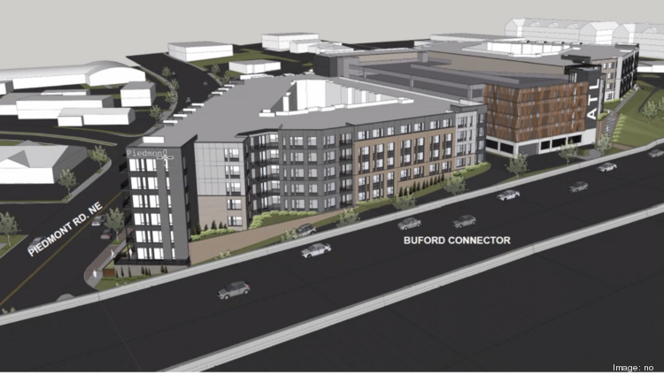 Nearly 400 apartments are planned to be built on the site of the vacant InTown Suites in Piedmont Heights adjacent to the Buford Spring Connector.