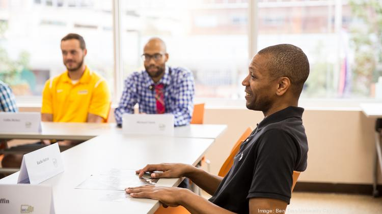 A cohort enrolled in the West Philadelphia Skills Initiative.
