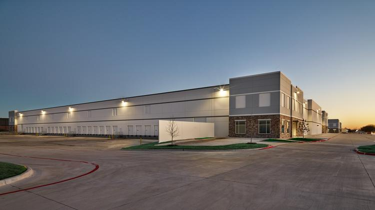 A photograph of the Jupiter Miller Business Center in Garland, Texas, which ended up being completed a couple of months sooner than anticipated despite significant changes to the original plans.