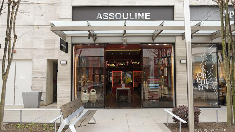 Assouline opened its first Texas location in Houston's River Oaks District.