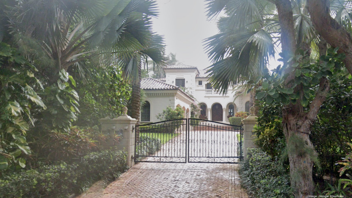 Attorney Jeanette Frankenberg, insurance executive Louis Compisano sell Gulf Stream home - South Florida Business Journal