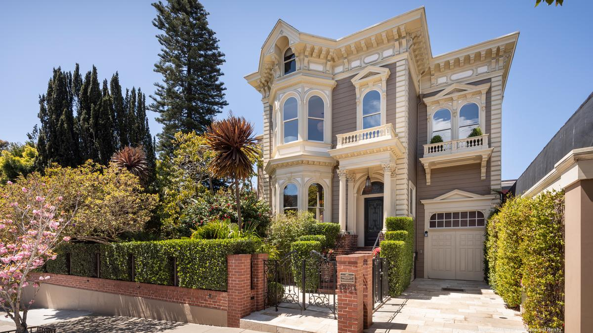 S.F. landmark Victorian in Pacific Heights hits the market - San Francisco Business Times