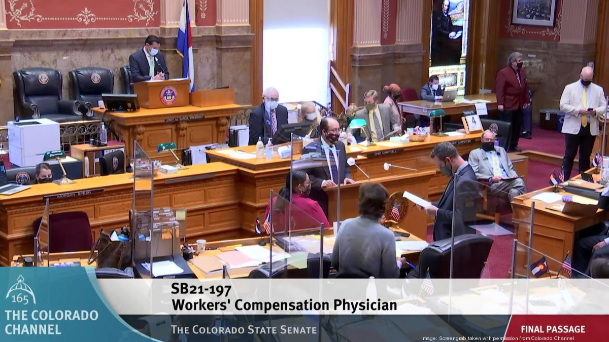 Colorado workers' compensation system reform clears major hurdle - Denver Business Journal