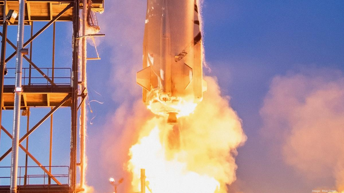 Blue Origin is auctioning off a seat on its first crewed space launch - Puget Sound Business Journal