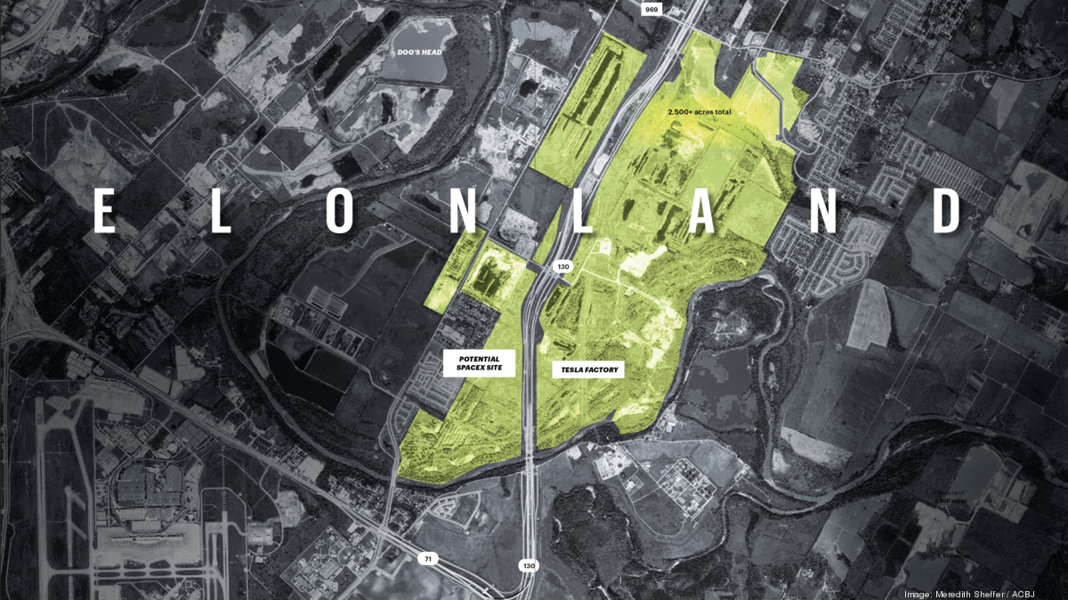 How will Elon Musk use all this land east of Austin? - Austin Business Journal