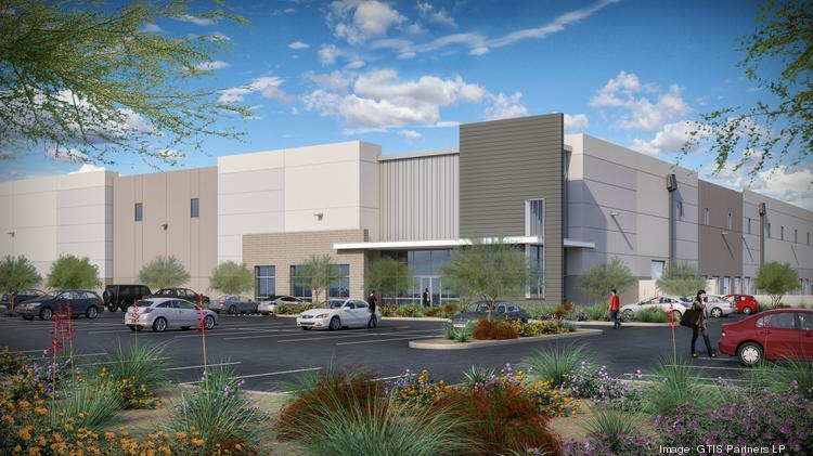 A joint venture composed of New York and Chicago real estate developers is planning to build a 490,000-square-foot logistics center in the West Valley.