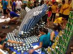 Five architecture and engineering teams honored at AIA Honolulu's Canstruction fundraiser: Slideshow