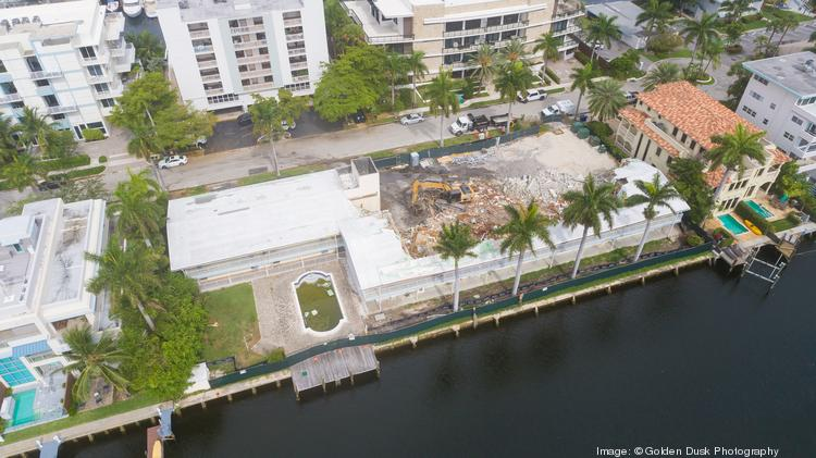 Gold Krown bought out and torn down a condo in Fort Lauderdale.