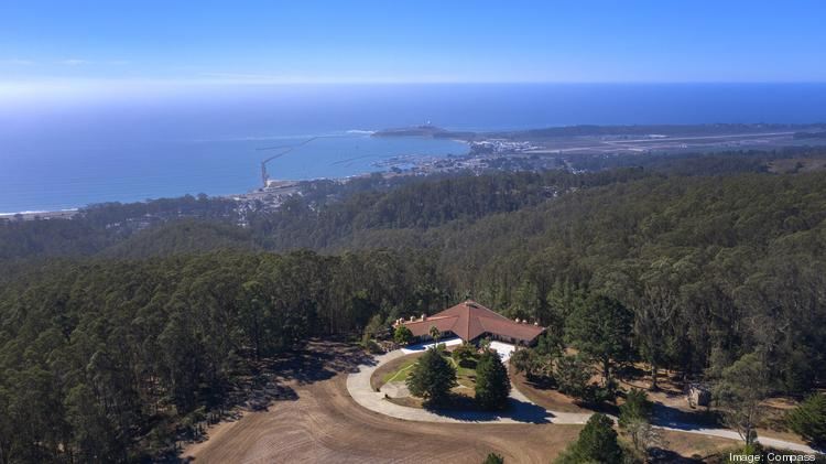 800 El Granada Blvd. in San Mateo County is listed for $15 million. The home has a helipad and overlooks the Pacific Ocean.