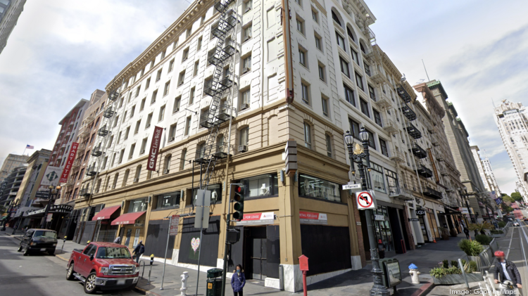 The Villa Florence San Francisco on Union Square at 225 Powell St.
