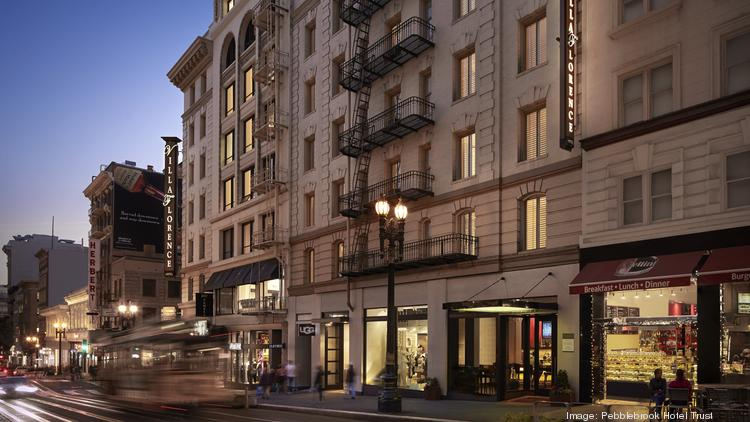 The 4-star, 189-room Villa Florence San Francisco on Union Square has been sold to an undisclosed buyer for $87.5 million, Pebblebrook Hotel Trust announced on Thursday.