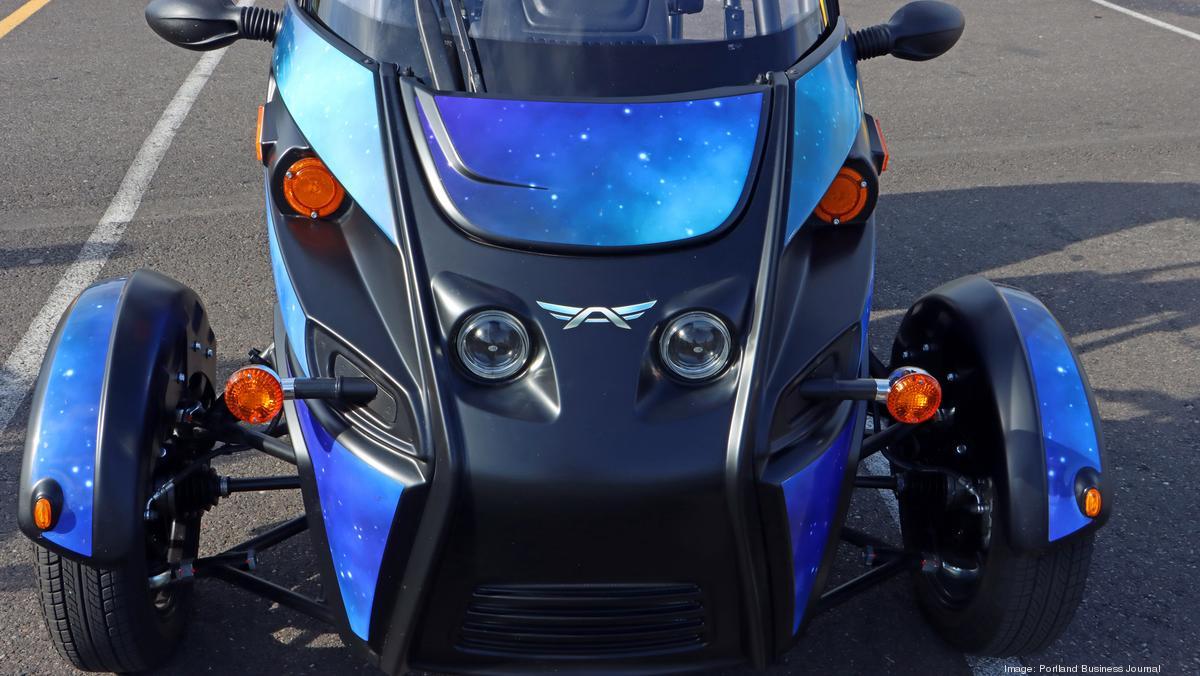 Oregon EV maker Arcimoto demos a little driverless technology - Portland Business Journal
