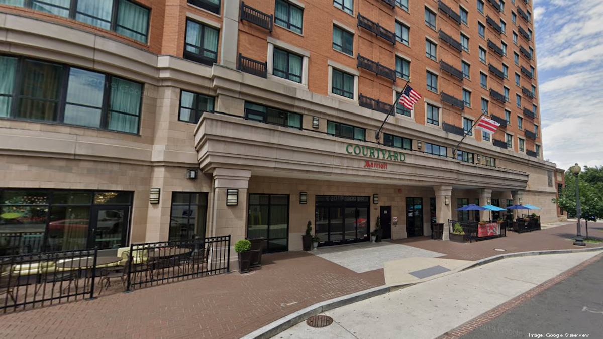 Blackstone acquires Courtyard by Marriott Navy Yard hotel from Park Hotels - Washington Business Journal