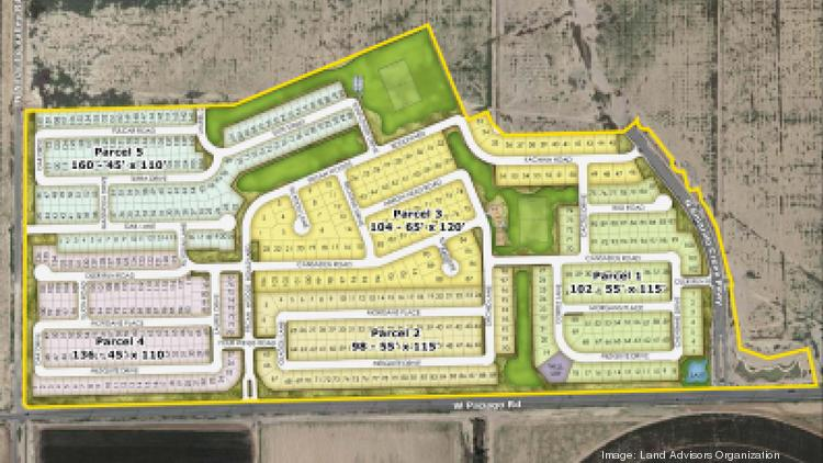 Ashton Woods bought these 600 lots along Papago Road south of the city of Maricopa.