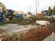 Merrel Bierman Excavating Inc. of Clarksville, Ind., is the demolition contractor.