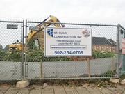 St. Clair Construction Inc. is the contractor building the new White Castle restaurant.