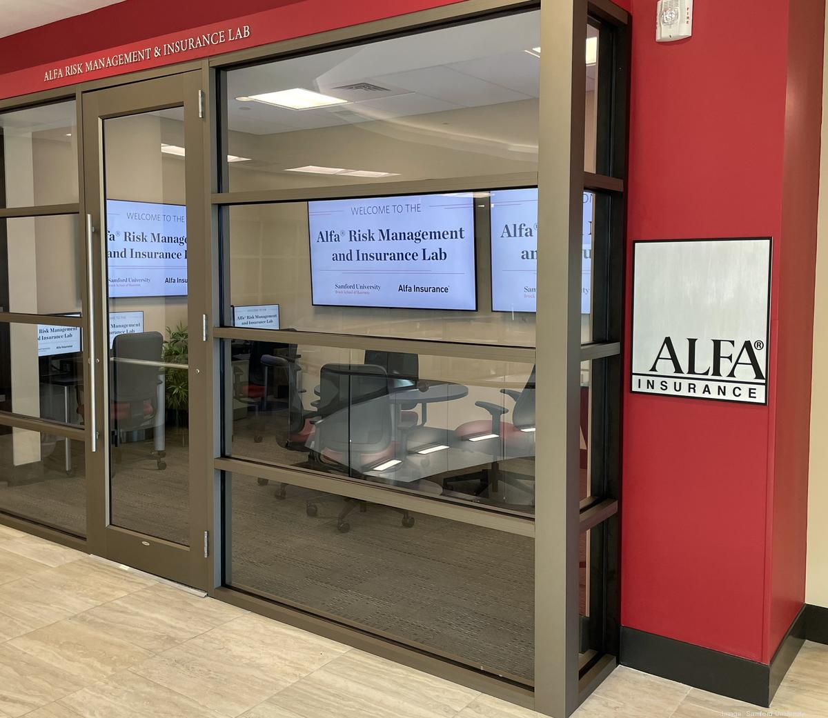 Samford University partners with Alfa on new lab for students as insurance industry gears up for increased job openings - Birmingham Business Journal