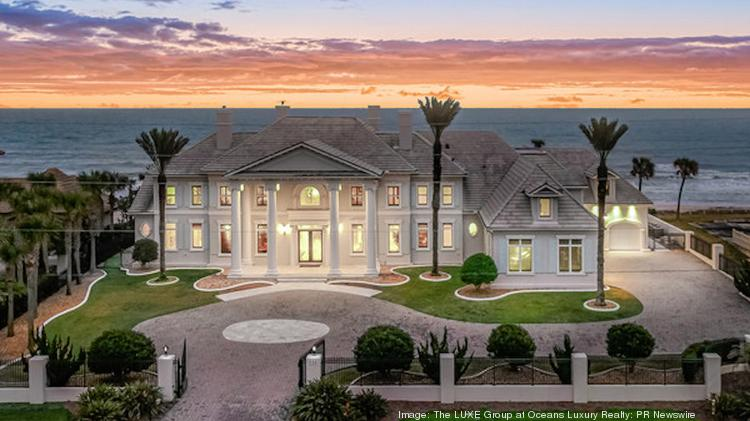 This Ormond Beach oceanfront estate, which sold in October 2021, set a sales price record in Volusia County at $5.12 million.