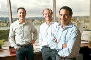 Waypoint Homes' Doug Brien, Gary Beasley and Colin Wiel (left to right) are co-founders of the Oakland real estate company, which purchases and renovates single-family homes.