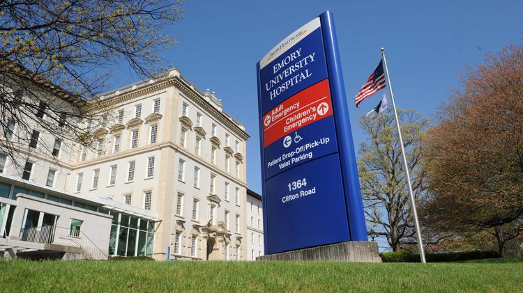 Us news emory university hospital ranks no 1 in georgia for emory hospital publicscrutiny Images